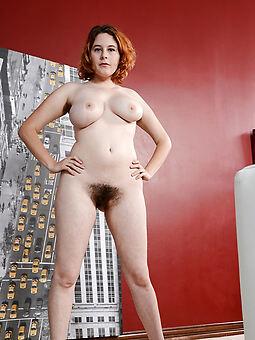 pretty unshaved nudist