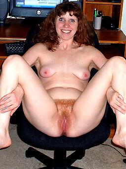 hairy redhead milf tease