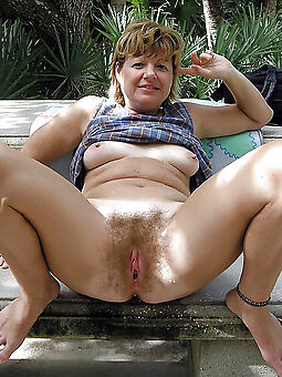 hairy outdoors stripping