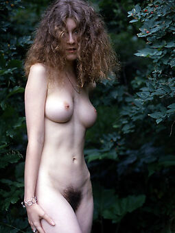 pretty naked hairy outdoor pics