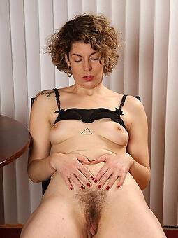 horny unshaved vagina stripping