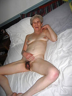 hairy old granny hot porn show