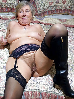 milf hairy granny seduction