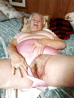 ideal hairy granny vagina