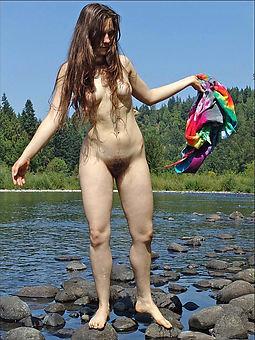 pretty hot hairy nude pics