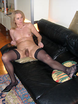 perfect hairy in stockings