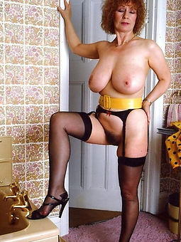 retro hairy mature seduction
