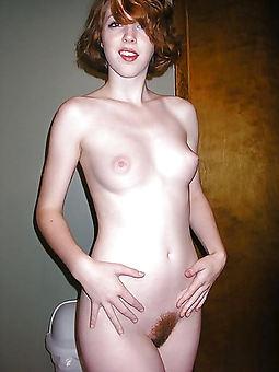 sexy hairy redhead jollying