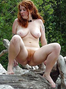 pretty sexy hairy redhead