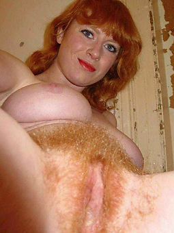 nude hairy redhead women