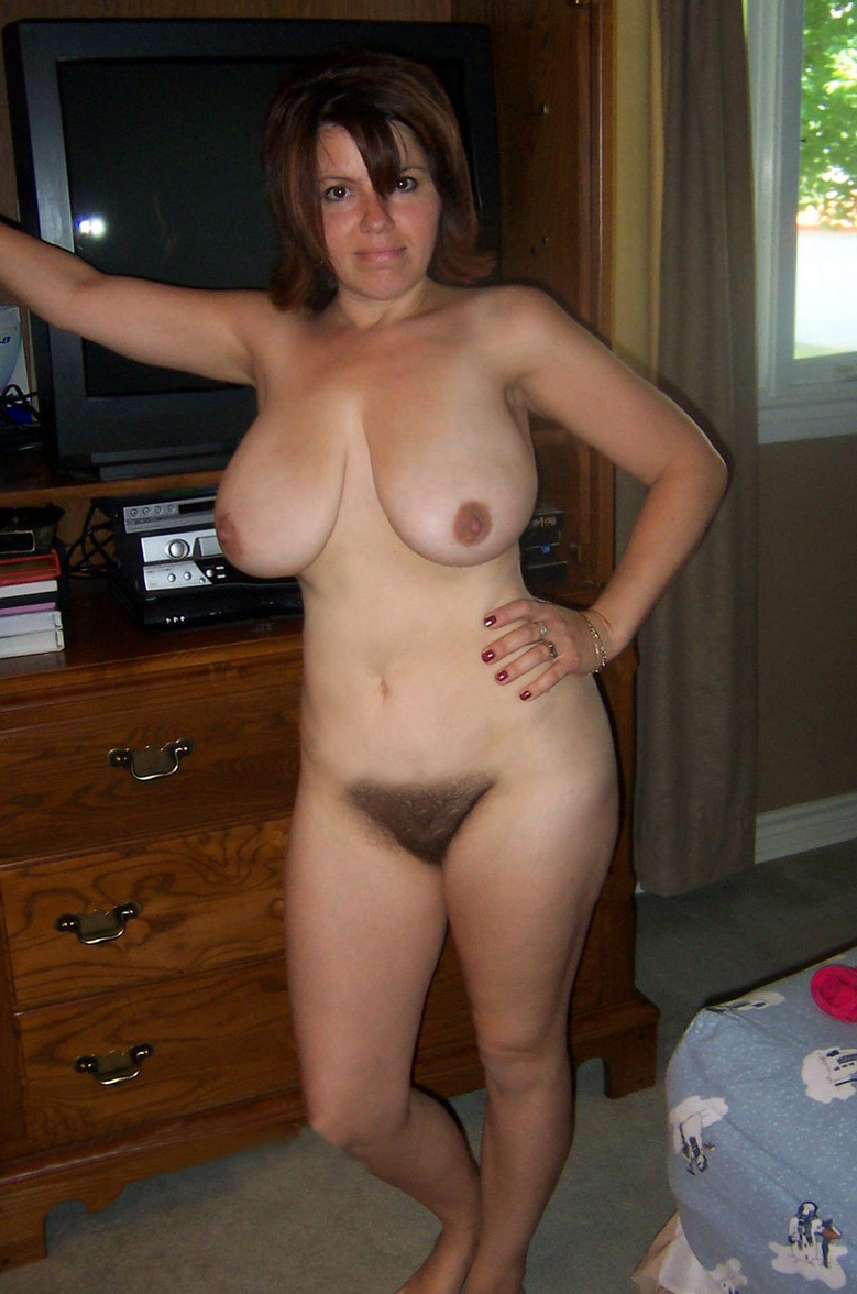 innocent full-grown big tits hairy pussy